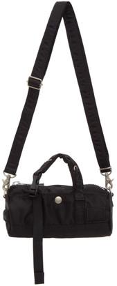 Sacai Black Mini Crossbody Duffle Bag