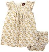 Tea Collection Rialto Metallic Dress & Bloomer Set (Baby Girls)