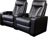Asstd National Brand Dallas 2-pc. Home Theater Faux-Leather Reclining Sofa Set