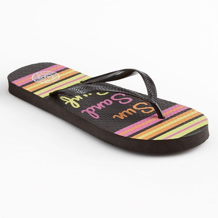 "So zori ""sun sand surf"" flip-flops - women"