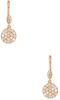 Meira T 14K Rose Gold & 0.54 Total Ct. Pave Diamond Drop Earrings