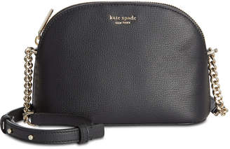 Kate Spade Sylvia Small Dome Leather Crossbody