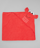 Luvable Friends Red Lobster Hooded Towel