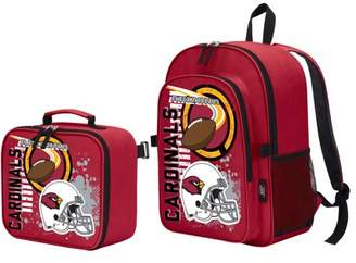 """Northwest Company The NFL Arizona Cardinals """"Accelerator"""" Backpack and Lunch Kit Set"""