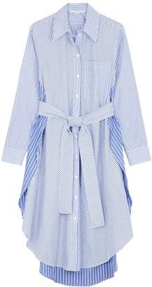 Stella McCartney Kyra striped cotton shirt dress