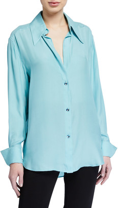 GAUGE81 Sapporo Silk Button-Down Shirt