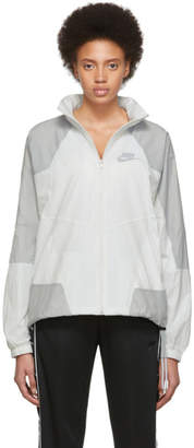 Nike White NSW Re-Issue HD Jacket