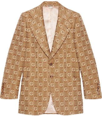 Gucci Textured G wool jacket