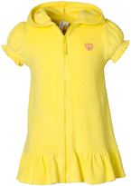 Pink Platinum Lemon Ruffle-Hem Cover-Up - Toddler & Girls