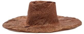 Reinhard Plank Hats - Nana Moulded Woven Hat - Camel