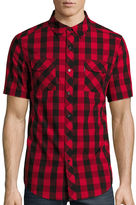 Ecko Unlimited Unltd. Short-Sleeve Bison Woven Top