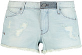 RtA Leo distressed shorts