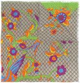Gucci GG Jubilee print shawl scarf - women - Silk/Modal - One Size