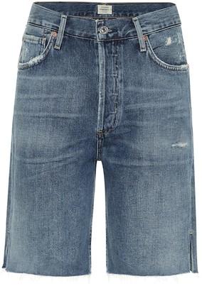 Citizens of Humanity Claudette high-rise denim shorts