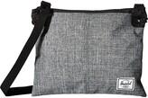 Herschel Alder (Black) Cross Body Handbags