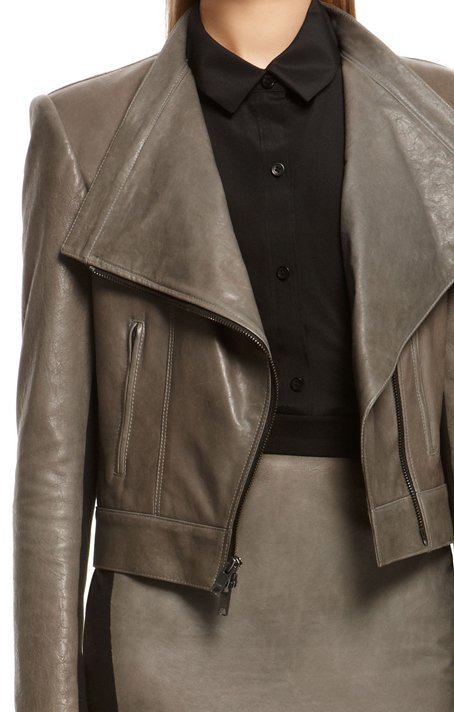 DKNY Lamb Leather Jacket