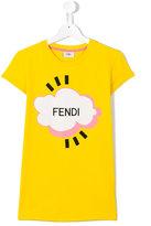 Fendi Cloud T-shirt - kids - Cotton/Spandex/Elastane - 14 yrs