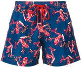 Paul Smith frog print swim shorts - men - Cotton - S