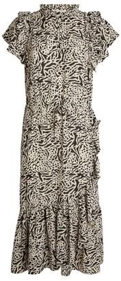 MUNTHE Ernie Ruffle Dress