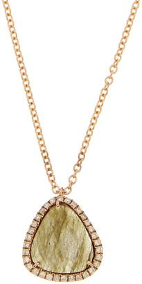 Meira T 14K Rose Gold 0.52 Ct. Tw. Diamond & Gemstone Necklace