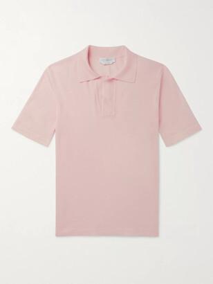 Gabriela Hearst Slim-Fit Virgin Wool Polo Shirt
