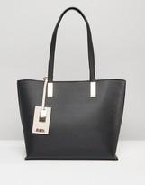 Faith Evelyn Tag Detail Tote Bag