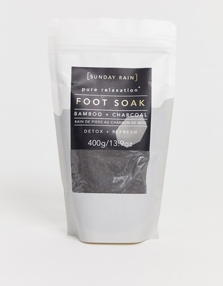 Sunday Rain Foot Soak Charcoal-No Color