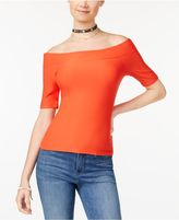 Planet Gold Juniors' Off-The-Shoulder Top