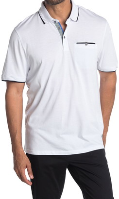 Ted Baker Derry Flat Knit Polo Shirt