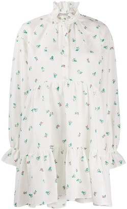 Philosophy di Lorenzo Serafini Floral Printed Shift Dress