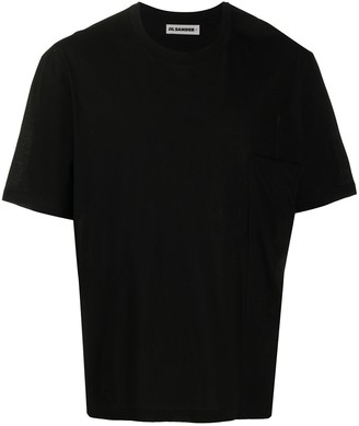 Jil Sander chest pocket relaxed fit T-shirt