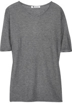 T by Alexander Wang Loose-fit short-sleeved knitted sweater
