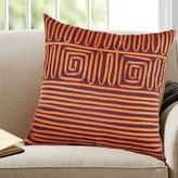 A1 Home Collections Llc Twirled Lace Cotton Throw Pillow A1 Home Collections LLC