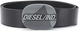 Diesel Logo Buckle Belt
