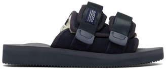 Suicoke Navy Sherpa Moto-Mab Sandals