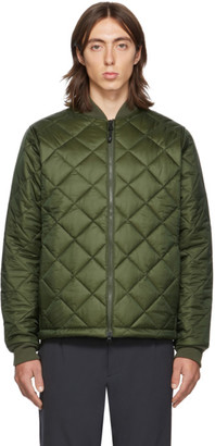 The Very Warm SSENSE Exclusive Khaki Light Quilted Bomber Jacket