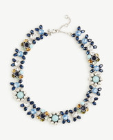 Ann Taylor Blue Bandana Necklace