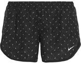 Nike Dry Tempo Mesh-trimmed Printed Shell Shorts - Black