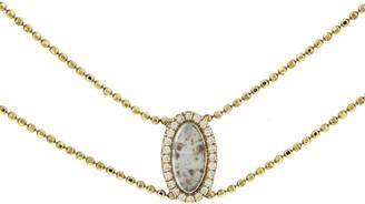 Darsana Sophie Collar Yellow Gold Necklace