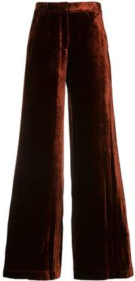 A.L.C. crushed velvet trousers