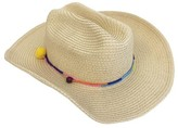 Seafolly Girls Mini Tassle Coyote Hat