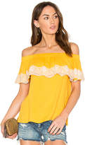 Ella Moss Trinity Top in Yellow. - size M (also in XS)