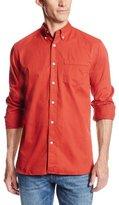 Dockers Long Sleeve Cotton Twill Basic One Pocket Shirt
