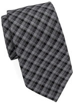 William Rast Textured Plaid Tie