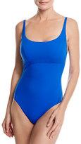 Gottex Au Natural Adjustable Strap One-Piece Swimsuit, Blue