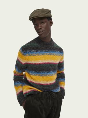 Scotch & Soda Wool-blend striped pullover   Men