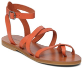 Lucky Brand Orange Grecian Sandal