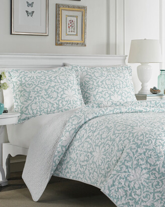 Laura Ashley Mia Quilt Set