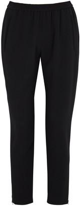 Stella McCartney Tamara black tapered trousers