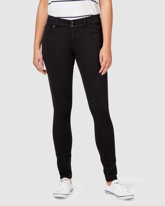 Jeanswest Hip Hugger Skinny Jeans Black Night